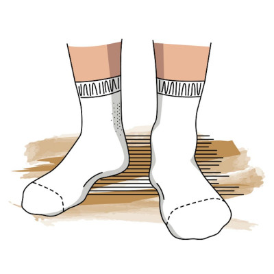 poster chaussettes