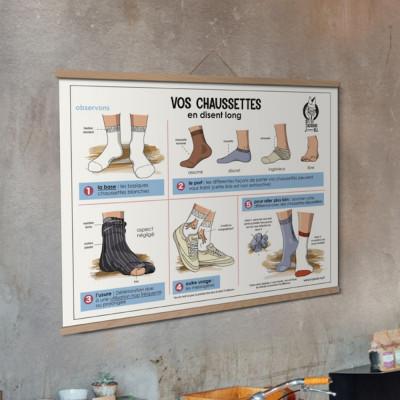 affiche chaussettes