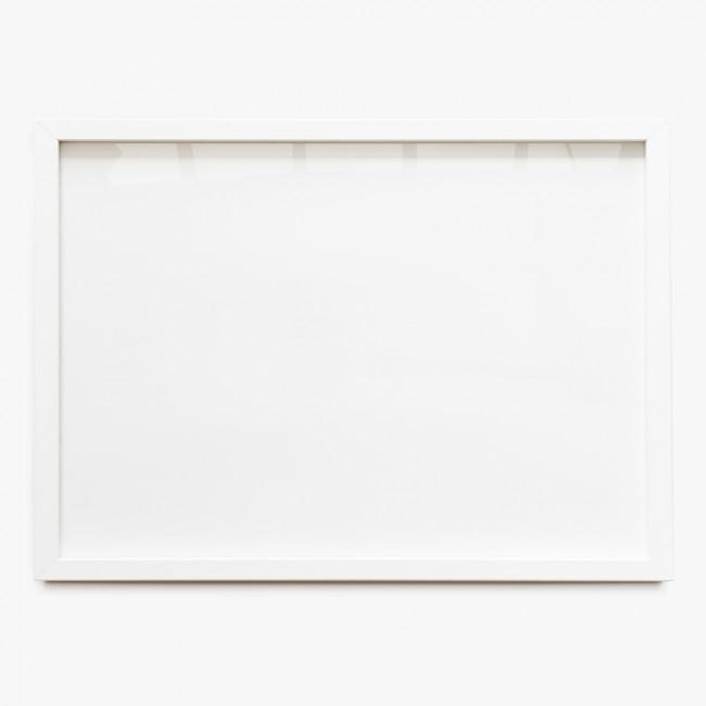 Cadre A2 - Blanc