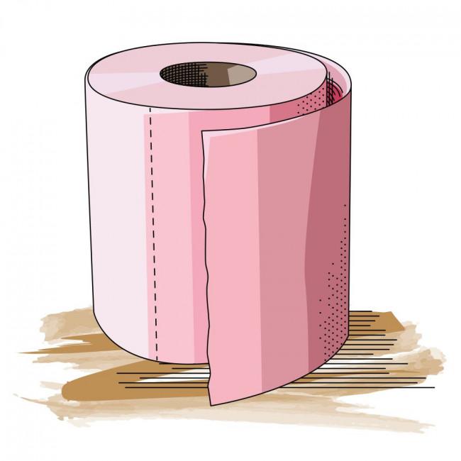 Carte - Le Papier Toilette...