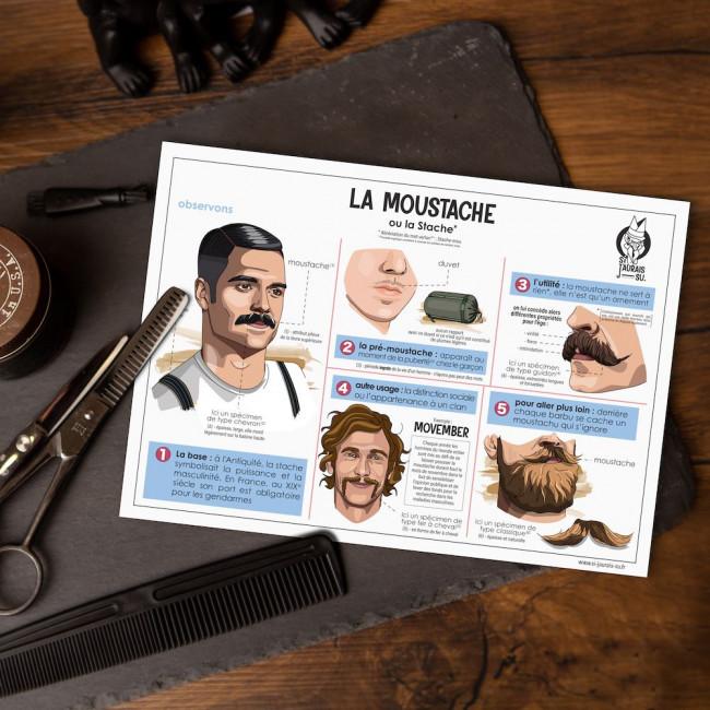 carte moustache movember
